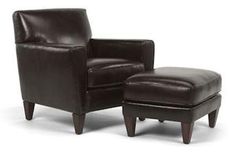 Digby Chair & Ottoman Model 3966-10-08 from Flexsteel furniture
