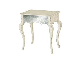 Picture of Pulaski - Antique White Accent Table with Cabriole Legs