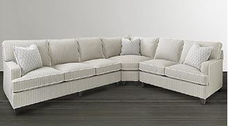 Picture of Custom Upholstery Medium Curved Corner Sectional