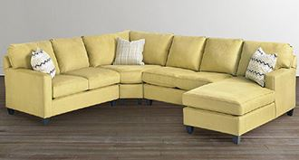 Picture of Custom Upholstery Medium U-Shaped Sectional