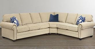 Picture of Custom Upholstery Large L-Shaped Sectional