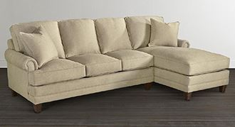 Picture of Custom Upholstery Small Right Chaise Sectional