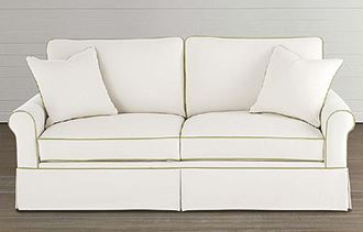 Picture of Custom Upholstery Small Sofa Sleeper