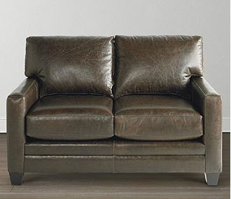 Picture of Custom Leather Ladson Loveseat