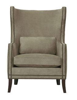 Kingston Wing Chair (N1712L) from Bernhardt furniture