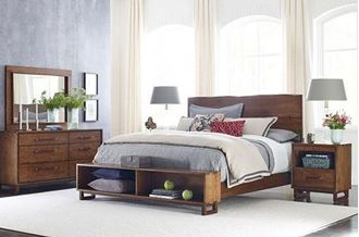 Picture of Traverse Live Edge Panel Bedroom
