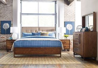 Picture of Traverse Upholstered Bedroom