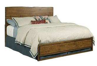 Picture of Kincaid - Craftsman LIVE Edge Bed