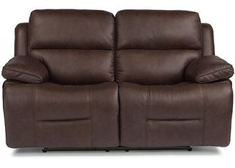 Apollo Reclining Leather Loveseat with Power Headrest (91849-60PH) by Flexsteel furniture