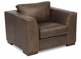 Hawkins Leather Chair 1347-10 from Flexsteel furniture