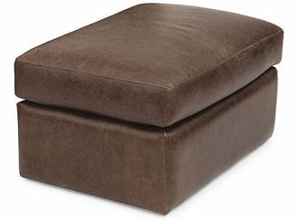 Hawkins Leather Ottoman 1347-08 from Flexsteel furniture