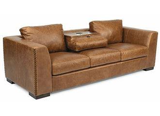 Hawkins Leather Sofa 1347-31 from Flexsteel furniture