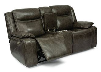 Picture of Journey Reclining Loveseat with Console (1498-64PH)