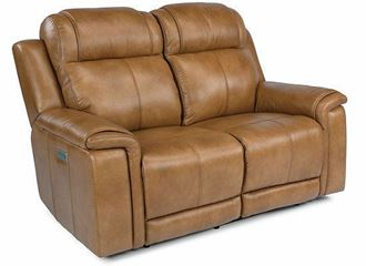 Picture of Kingsley Power Reclining Loveseat with Power Headrest 1128-60PH