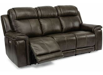 Picture of Kingsley Power Reclining Sofa with Power Headrests and Lumbar 1128-62PH