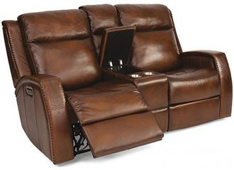 Picture of Mustang Reclining Loveseat with Console (1873-64PH)