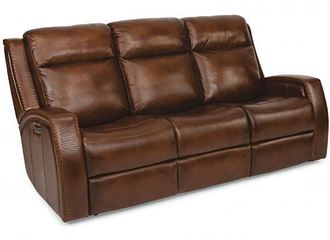 Picture of Mustang Reclining Sofa with Power Headrest (1873-62PH)