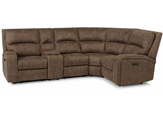 Picture of NIRVANA Reclining Sectional with Power Headrests 1650-SECTPH