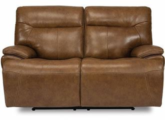 Picture of SADDLE Power Reclining Loveseat with Power Headrests 1932-60PH