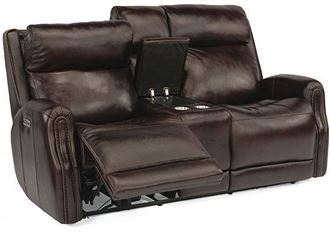 Picture of Stanley Reclining Loveseat with Console (1897-64PH)