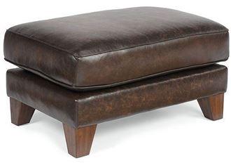 Picture of Sullivan Leather Ottoman (3103-08)
