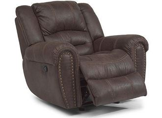 Picture of Town Leather Recliner with Power Headrest (1010-50PH)
