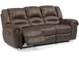 Picture of Town Leather Reclining Sofa with Power Headrest (1010-62PH)