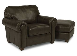 Picture of Carson Leather Chair (B3937-10)
