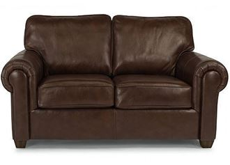 Picture of Carson Leather Loveseat (B3937-20)