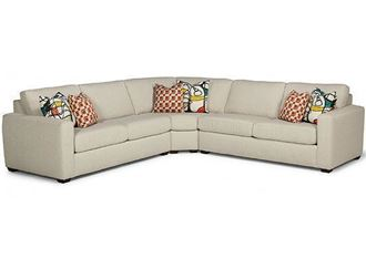 Collins Sectional  (7107-SECT) by Flexsteel furniture