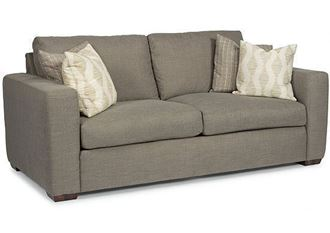 Collins Two-Cushion Sofa (7107-30) by Flexsteel furniture