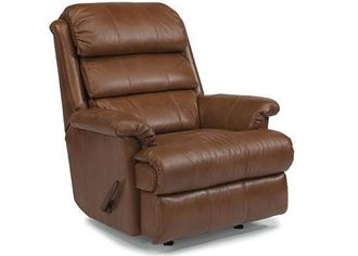 Picture of Yukon Leather Swivel Glider Recliner (3209-530)