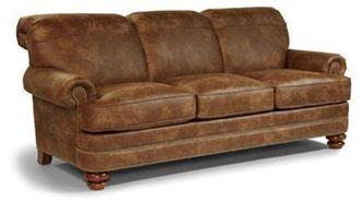 Bay Bridge Leather Sofa B3791-31 from Flexsteel furniture